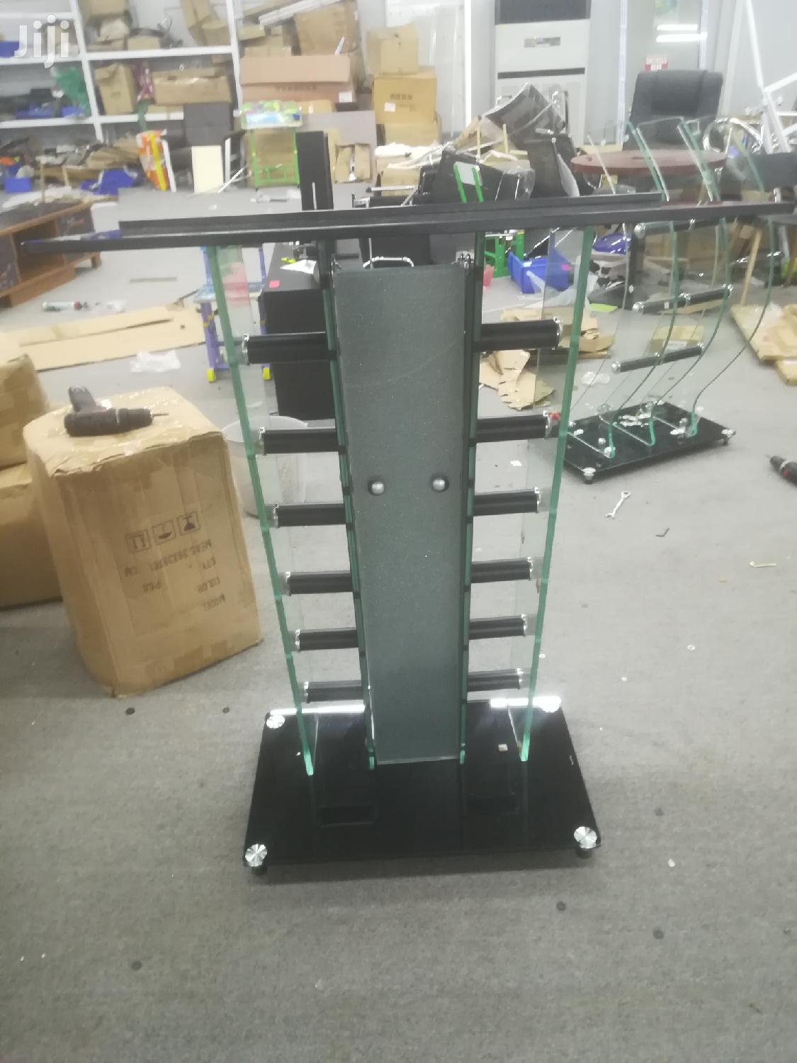 Tempered Glass Pulpit | Furniture for sale in Kwashieman, Greater Accra, Ghana