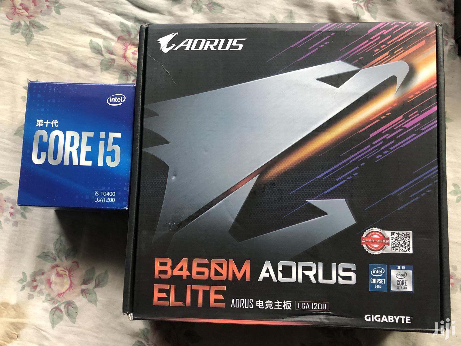 Intel Core I5 10400 ( 10th Gen ) CPU + Aorus B460M ELITE
