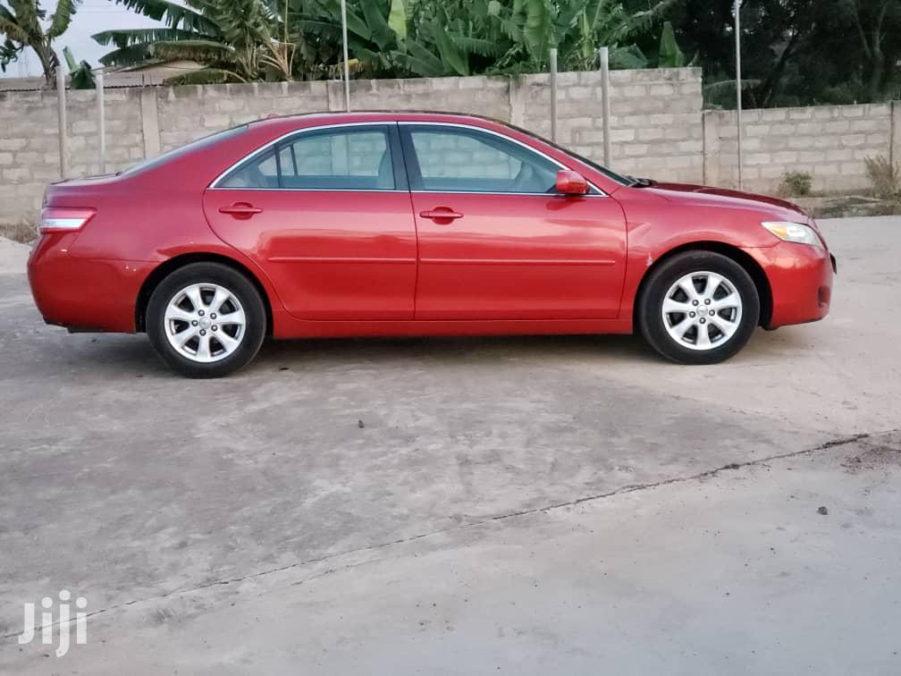Archive: Toyota Camry 2010 Red