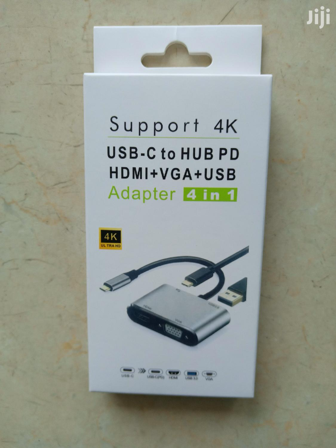 Archive: Tyoe C to HDMI, VGA and USB Converter