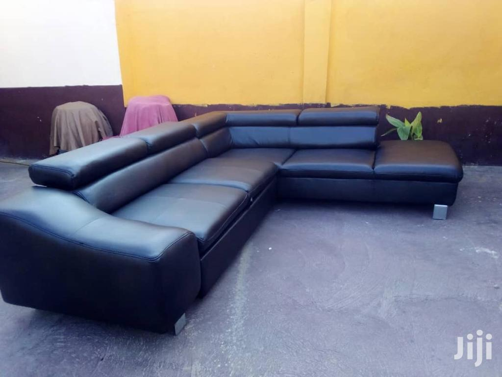 Archive: L Shape Leather Sofa