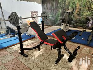 Commercial Multifunction Bench With 70kg Weight | Sports Equipment for sale in Greater Accra, Ga East Municipal