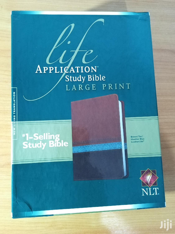 Archive: NLT Life Application Study Bible Large Print