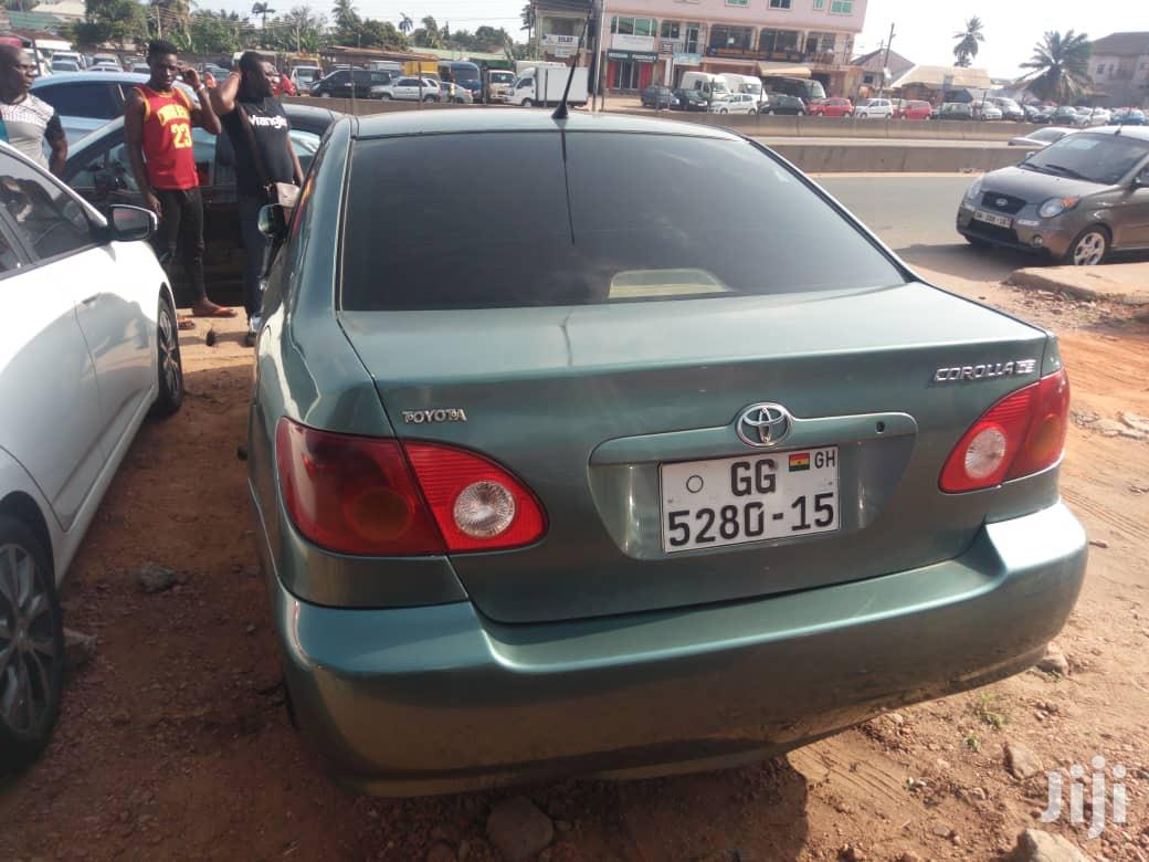 Toyota Corolla 2007 Green In Achimota Cars Obed Asare Jiji Com Gh For Sale In Achimota Buy Cars From Obed Asare On Jiji Com Gh