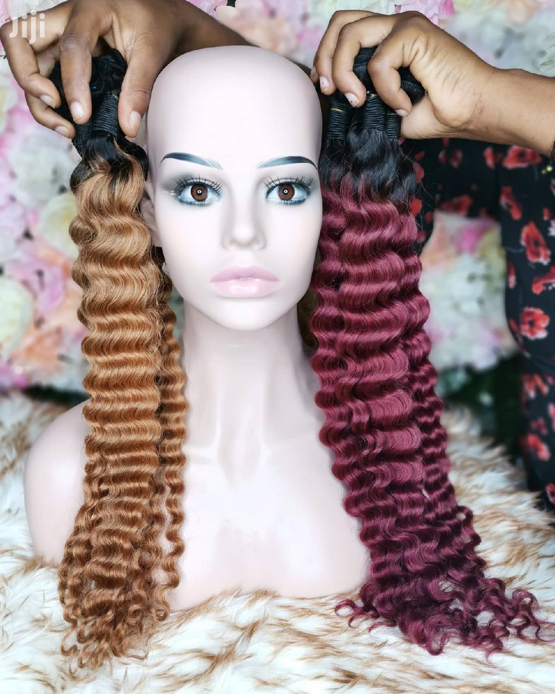 "16"" Indian Deepwave Wave Virgin Hair | Hair Beauty for sale in Accra Metropolitan, Greater Accra, Ghana"