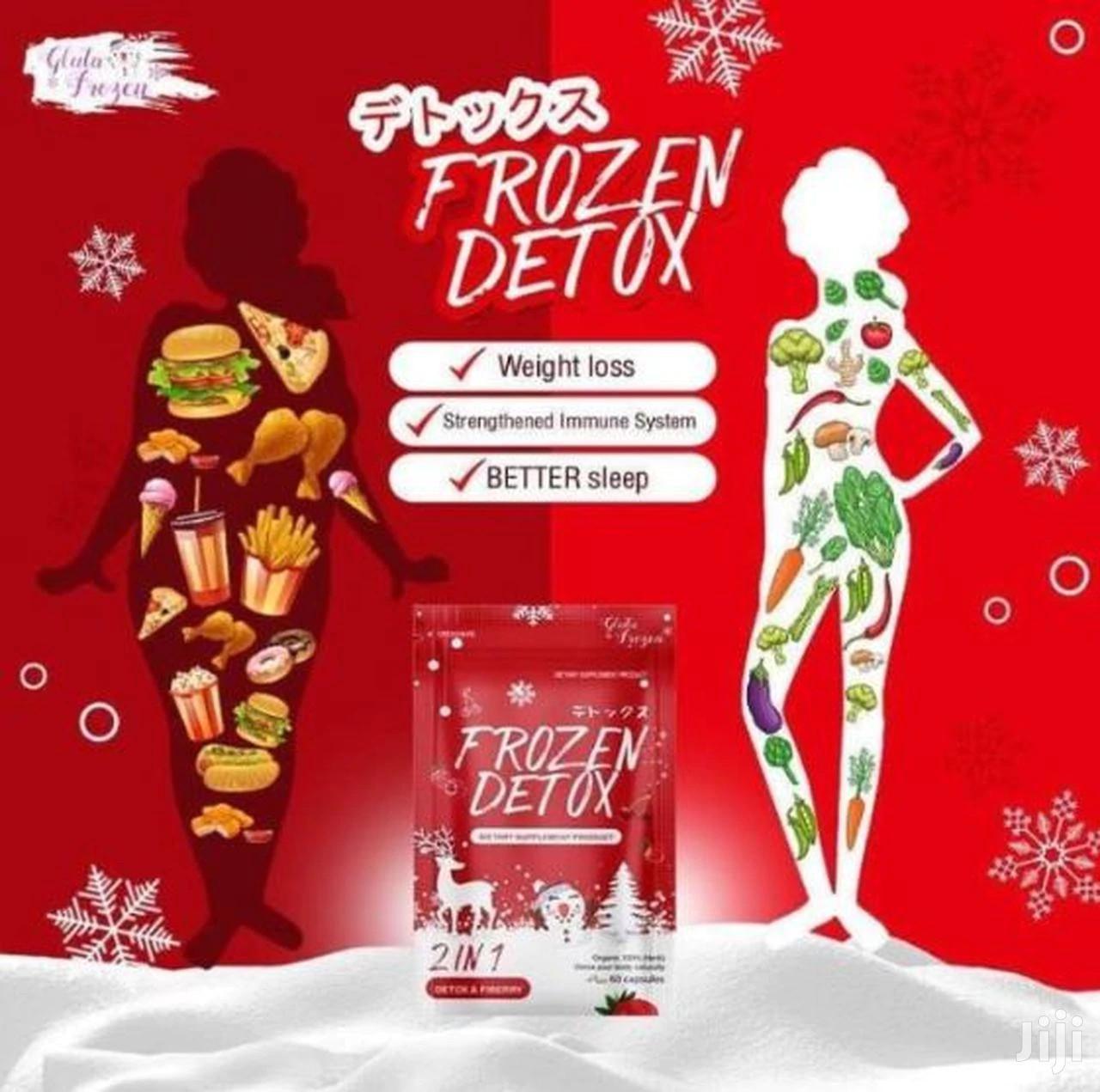Frozen Detox For Flat Tummy 2in1