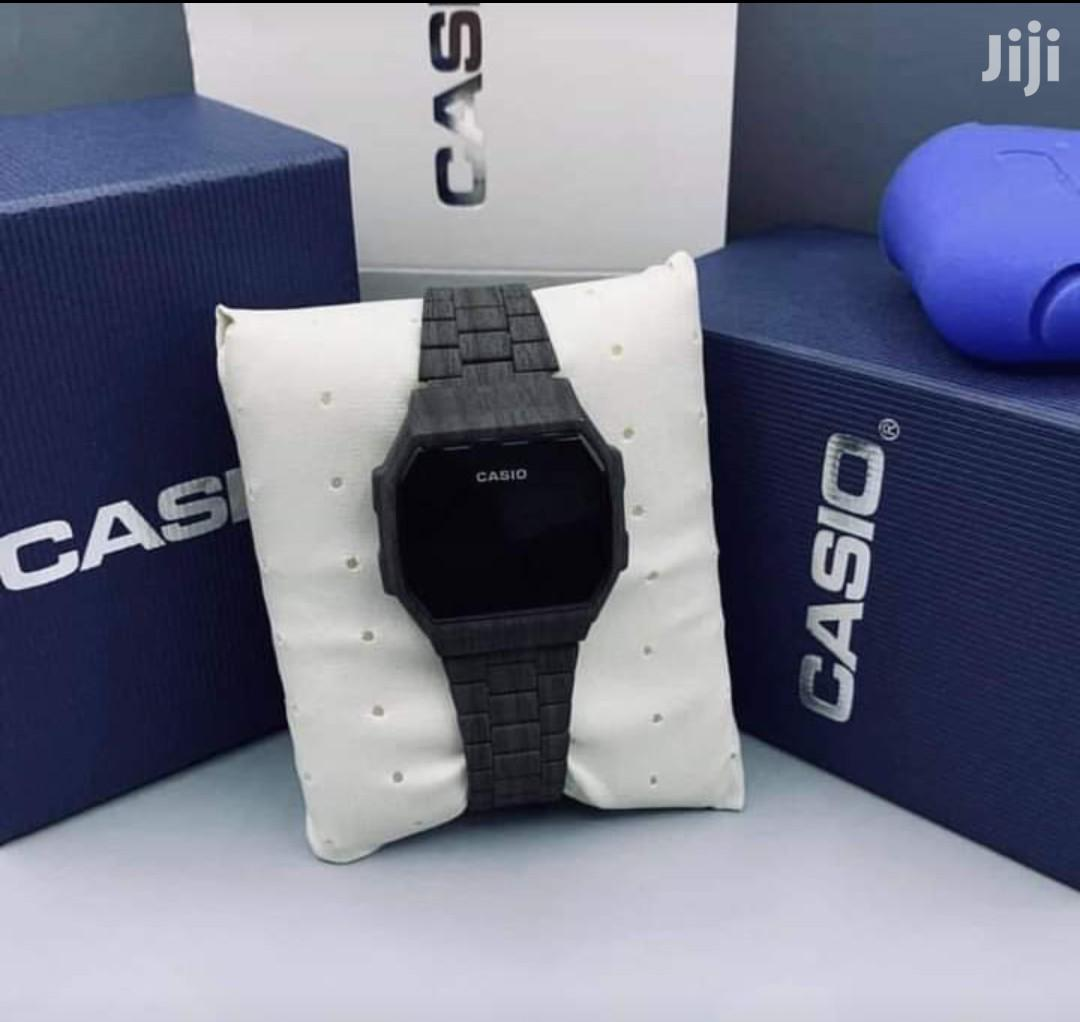 Casio Digital Touch Watch(Wooden) FREE Delivery | Watches for sale in Accra Metropolitan, Greater Accra, Ghana