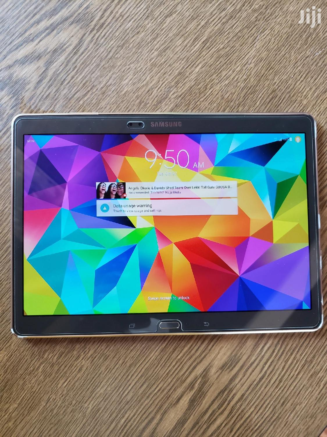Samsung Galaxy Tab S 10.5 LTE 16 GB | Tablets for sale in Teshie-Nungua Estates, Greater Accra, Ghana