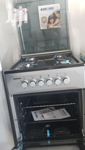 Durable Bruhm 4 Burner 50X50 (Oven Grill) Gas Cooker   Kitchen Appliances for sale in Greater Accra, Accra Metropolitan