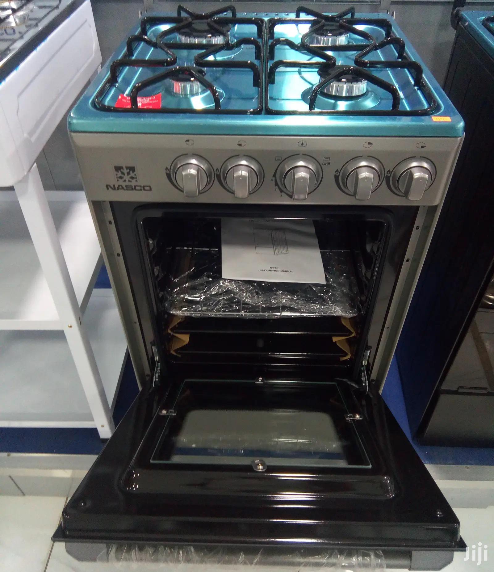4 Burner With Oven NASCO