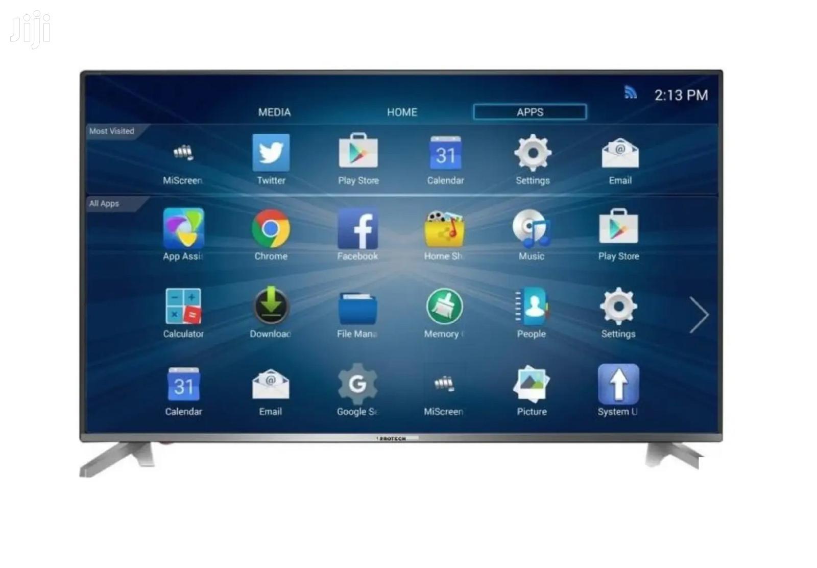 "Durable Protech 55"" Uhd 4K Smart TV"