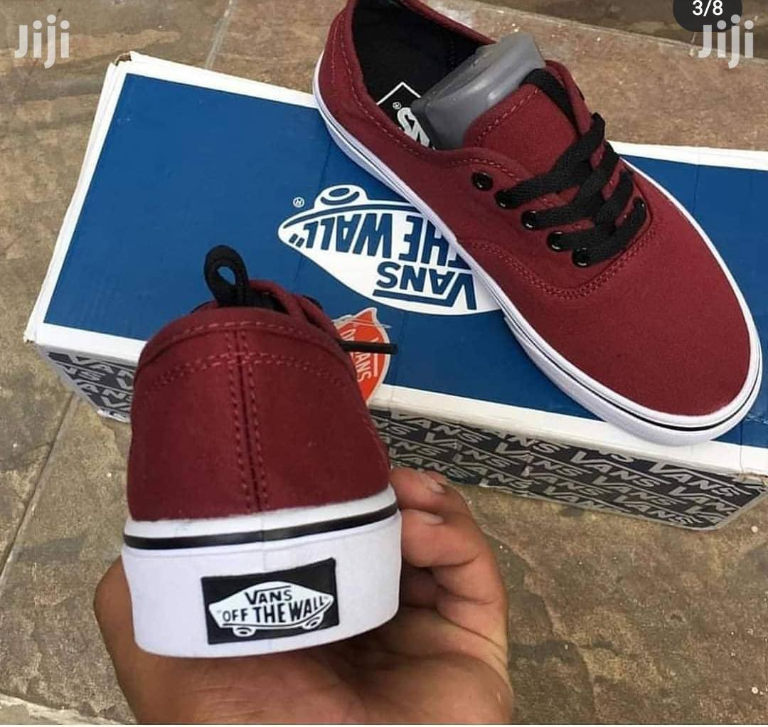 Vans Off the Wall Wine | Shoes for sale in Nii Boi Town, Greater Accra, Ghana