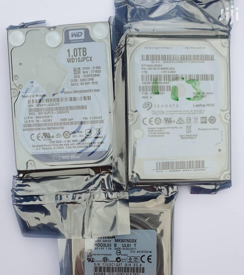 1tb Toshiba / Seagate Laptop Hard Disk Drive