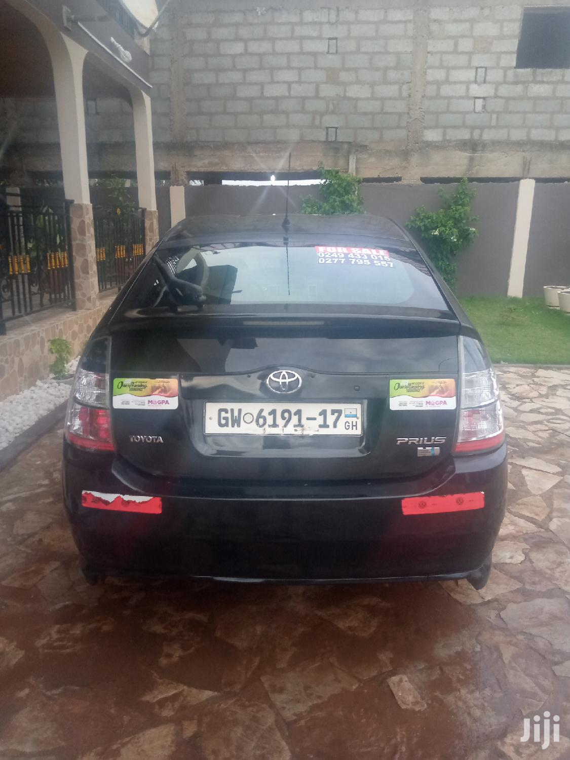 Toyota Prius 2004 HSD Hybrid Black | Cars for sale in Achimota, Greater Accra, Ghana
