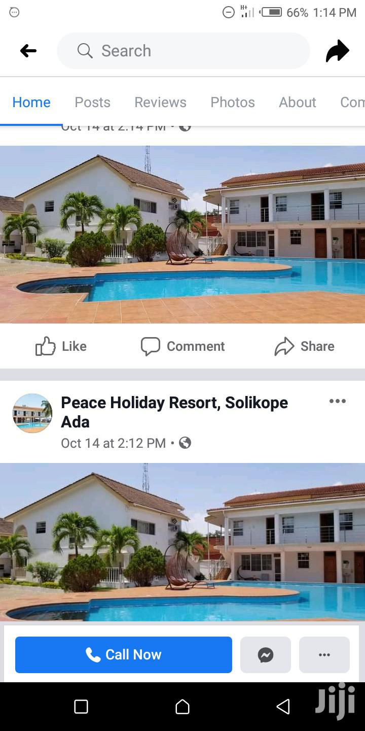 Peace Holiday Resort Hotel At Ada Solikope | Commercial Property For Rent for sale in Tema Metropolitan, Greater Accra, Ghana