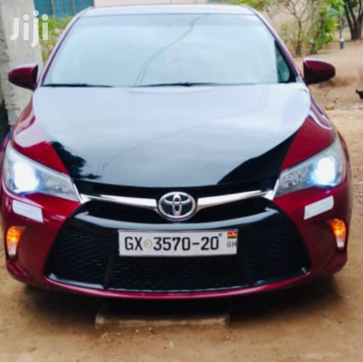 Toyota Camry 2016 Red