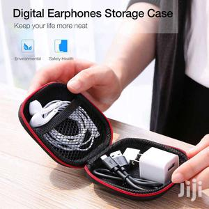 EAR PHONE AND POWER CABLES POUCH (HARD COVER)