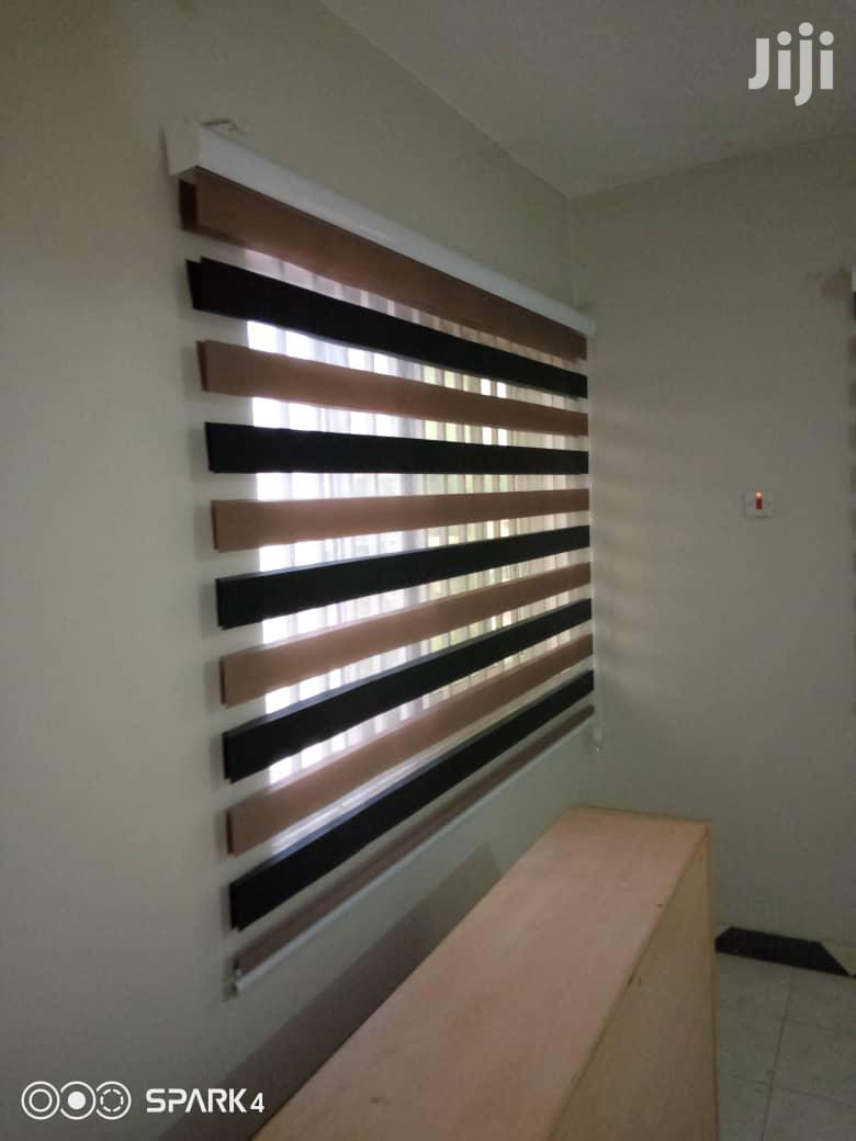 Classy Zebra Curtains Blinds | Home Accessories for sale in South Shiashie, Greater Accra, Ghana