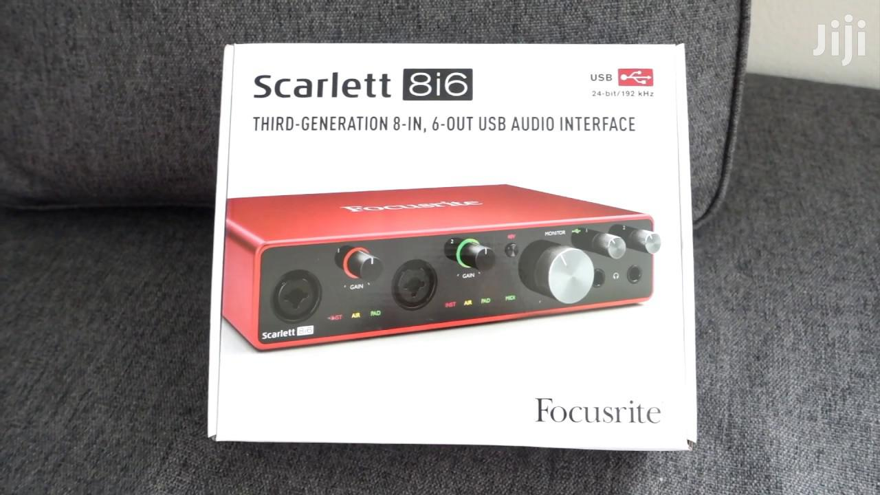 Focusrite Scarlett 8i6 3rd Gen USB Audio Interface | Audio & Music Equipment for sale in Ga South Municipal, Greater Accra, Ghana
