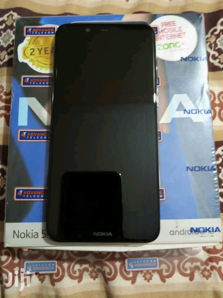 Archive: New Nokia 5.1 Plus (X5) 64 GB Black