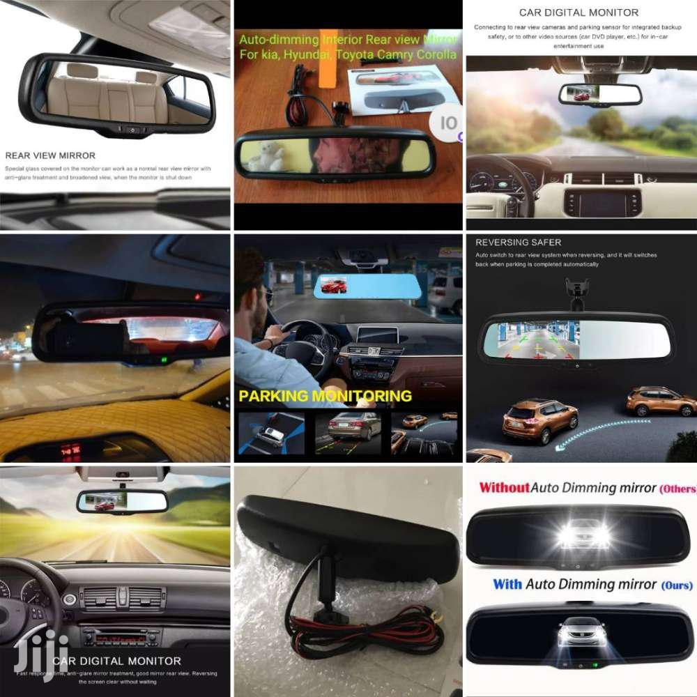 Car Auto-dimming Interior Rear View Camera Monitor