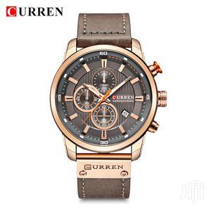 Curren 8291 Male Quartz Leather Strap Business Wristwatch   Watches for sale in Volta Region, Ho Municipal