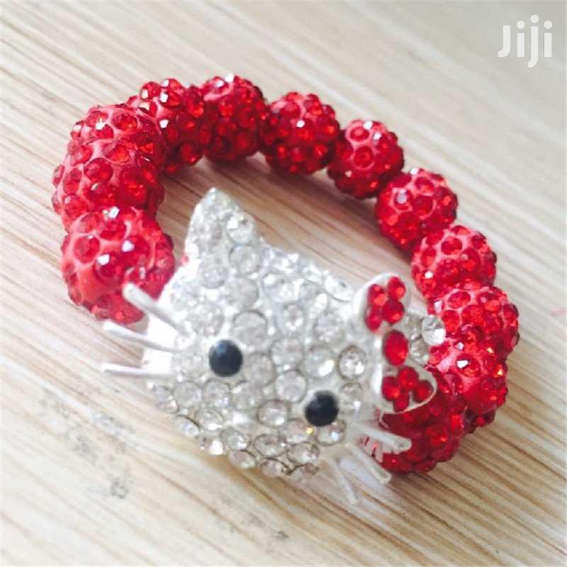 Cute Kitty Beaded Bracelet