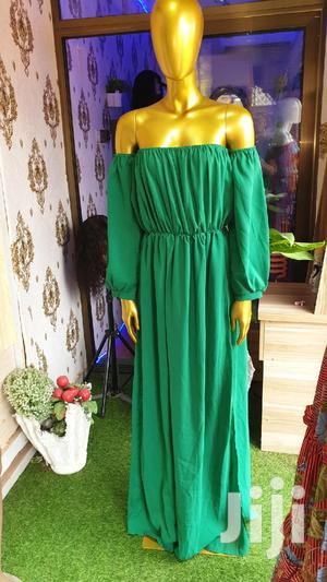 Maxi Green Vintage Dress For Female | Clothing for sale in Greater Accra, East Legon