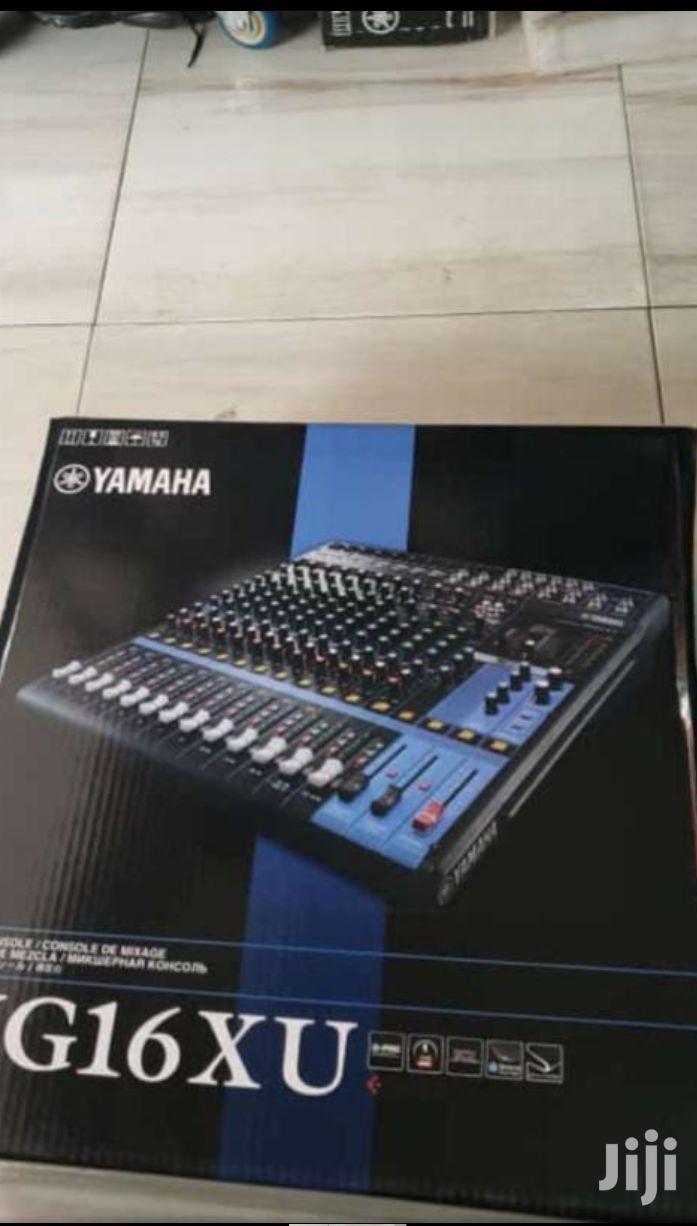 Yamaha MG16XU- 16 Channel Mixer