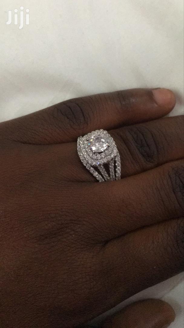 Quality 3 Pieces 925 Sterling Silver Wedding Rings | Jewelry for sale in Kumasi Metropolitan, Ashanti, Ghana