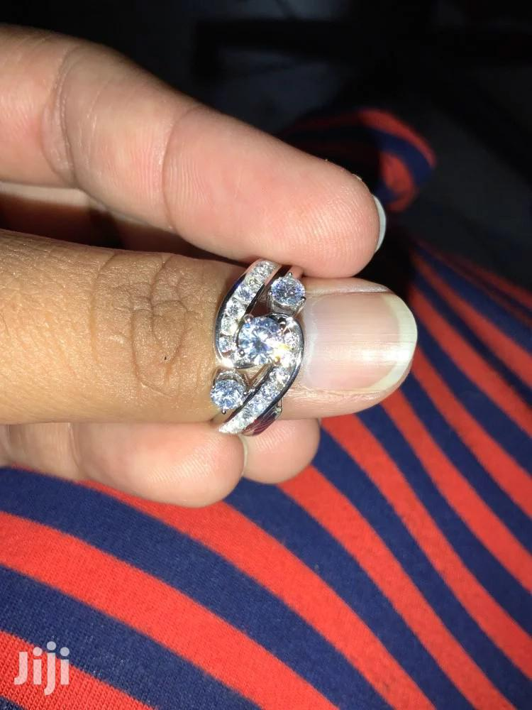 Quality 2 Pieces 925 Sterling Silver Wedding Ring | Jewelry for sale in Kumasi Metropolitan, Ashanti, Ghana