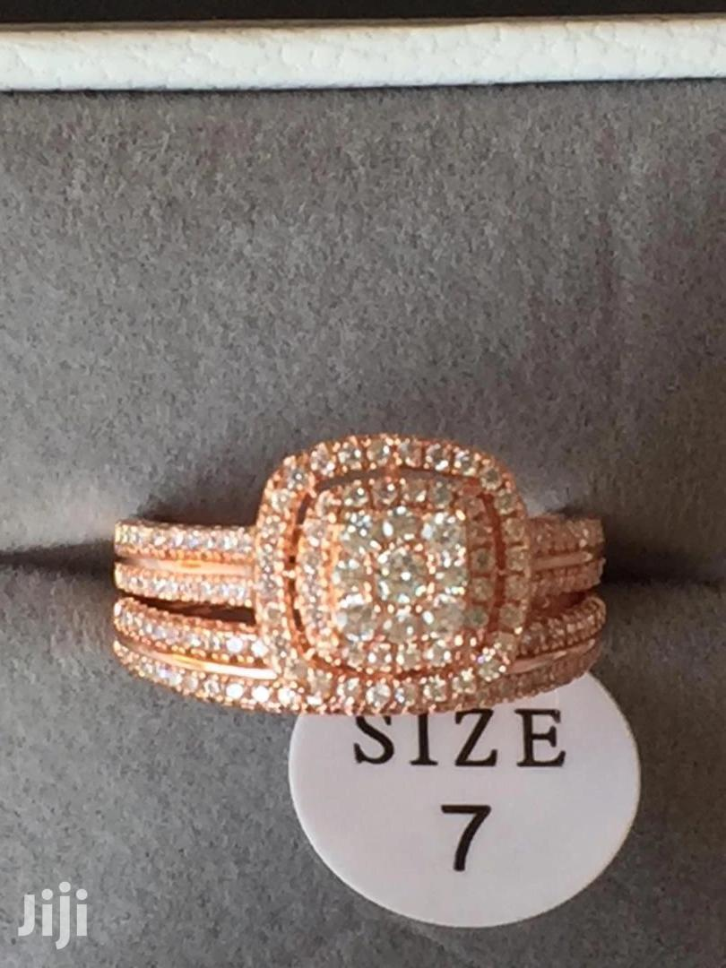 Quality 2 Pcs Wedding Rings