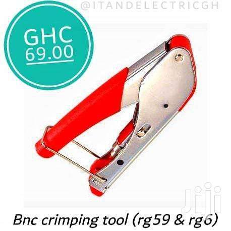 Bnc Crimping Tool For Rg59 And Rg6