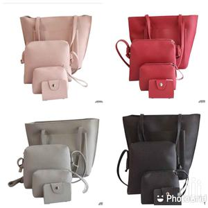 Women's Leather Handbag Four Set   Bags for sale in Greater Accra, Tema Metropolitan