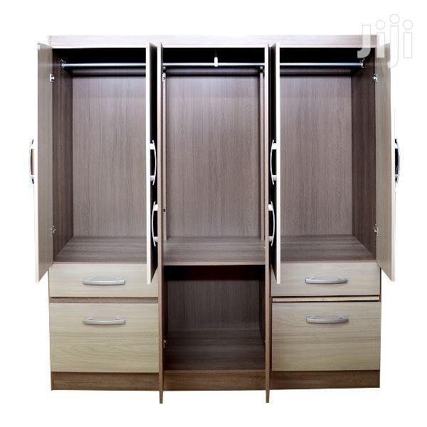 Wooden Wardrobe 8 Doors 2 Drawers | Furniture for sale in Accra Metropolitan, Greater Accra, Ghana