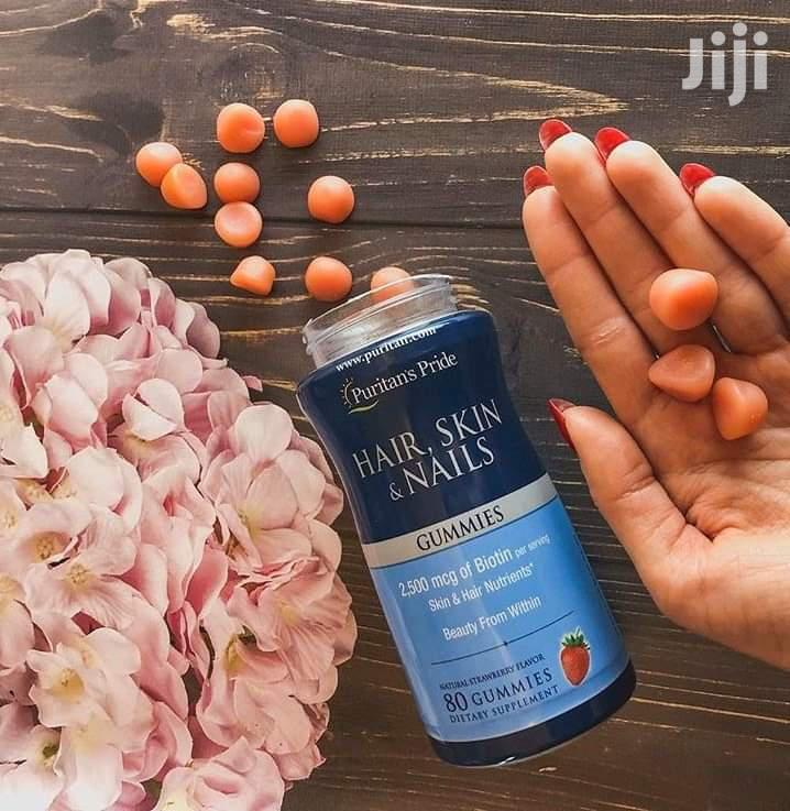 Puritan's Pride Hair, Skin And Nails Gummies | Vitamins & Supplements for sale in Teshie-Nungua Estates, Greater Accra, Ghana