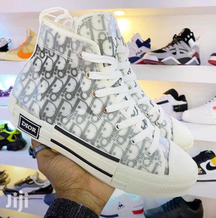 Archive: Dior High Top Sneaker