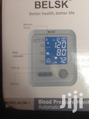 Automatic Belsk Blood Pressure Monitor   Medical Supplies & Equipment for sale in Greater Accra, Adenta
