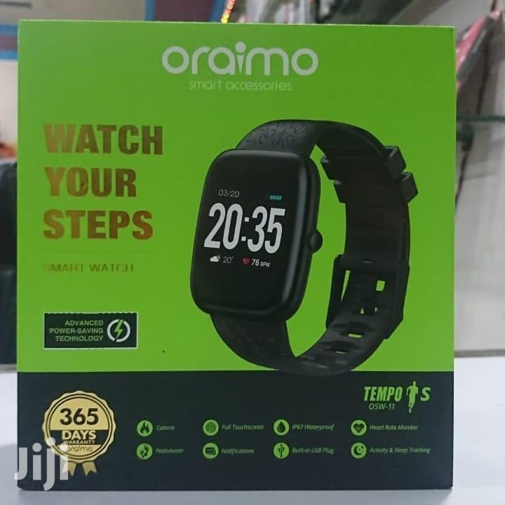 Oraimo Tempo S OSW-11 Smart Watch | Smart Watches & Trackers for sale in Tema Metropolitan, Greater Accra, Ghana