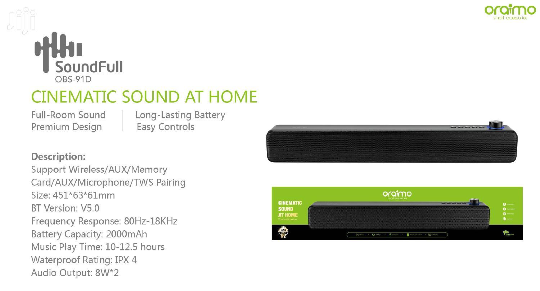 Oraimo Soundbar | Audio & Music Equipment for sale in Ga East Municipal, Greater Accra, Ghana