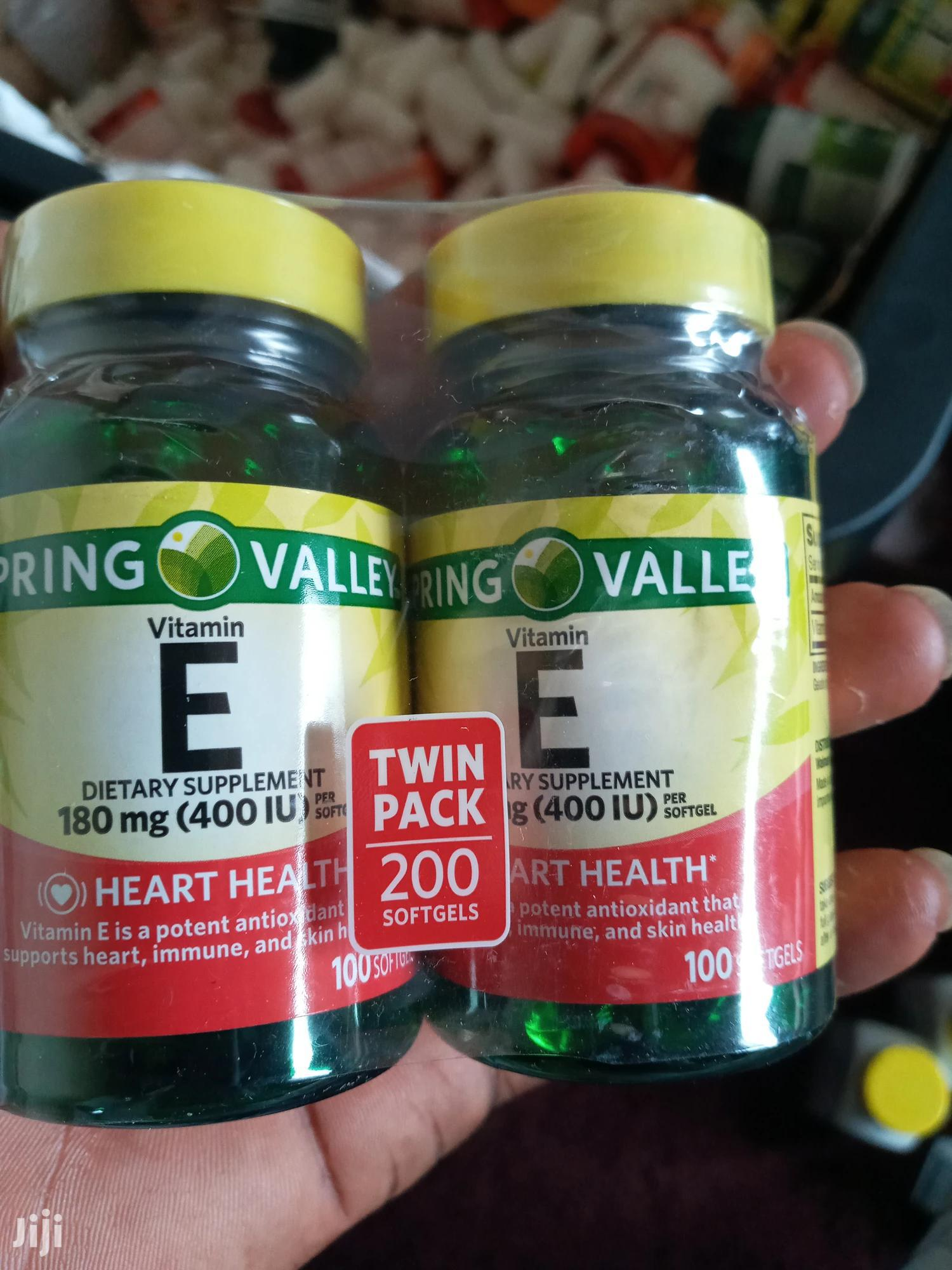 Archive: Spring Valley Vitamin E (100 Softgels)