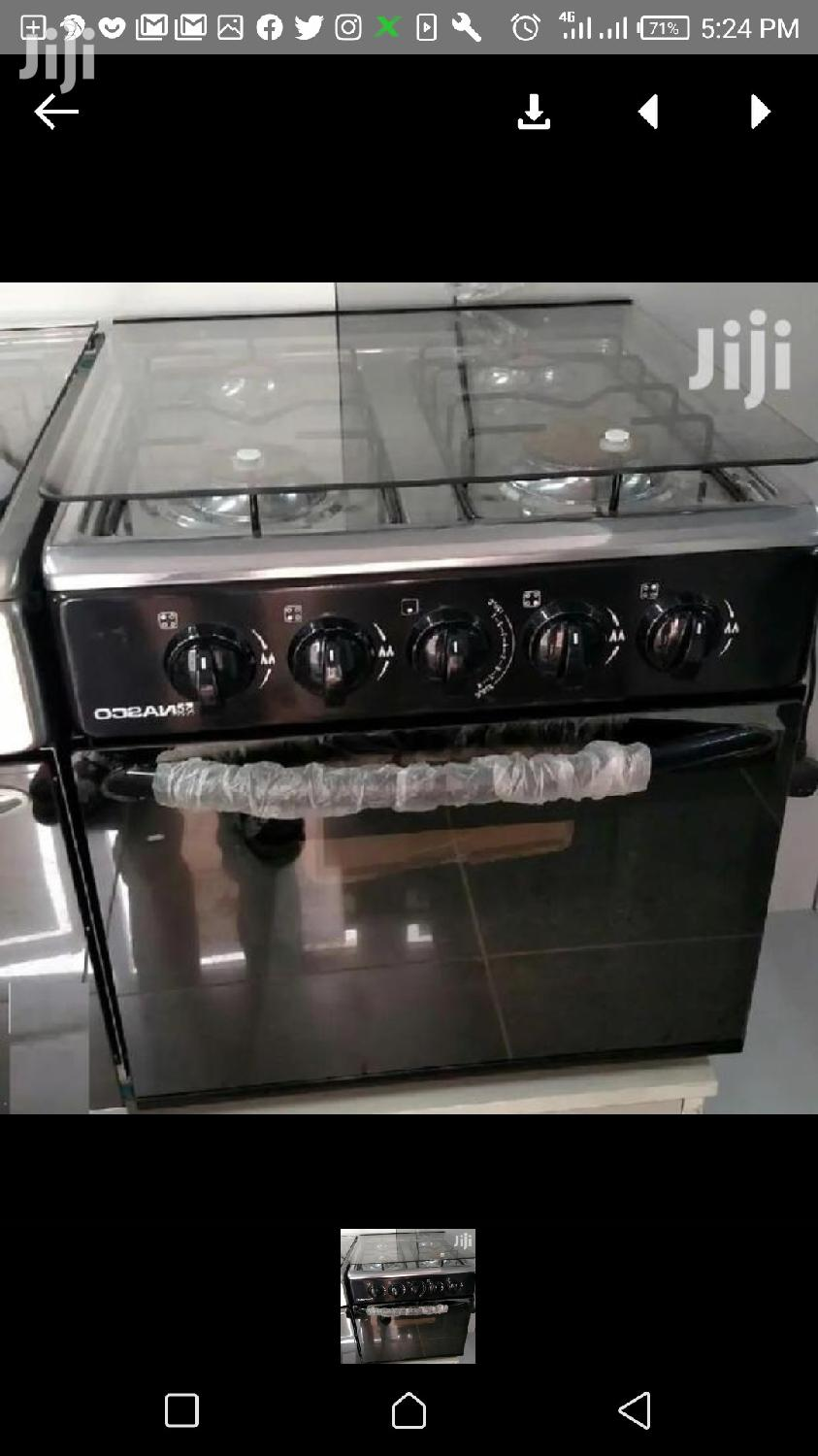 Mini Table Top 4 Burner With Oven