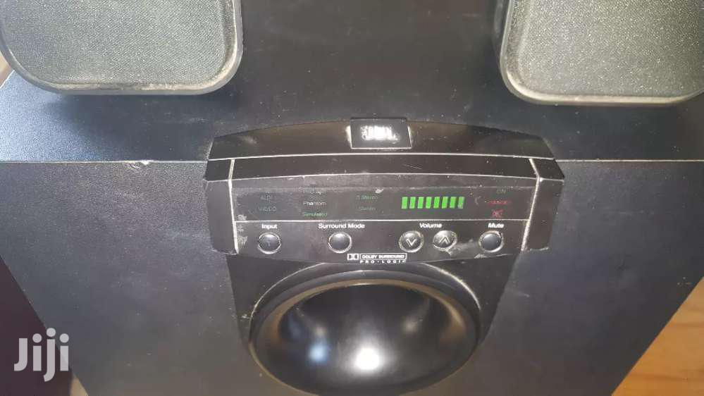 JBL Simply Cinema SUB300 With 2 Philips Speakers | Audio & Music Equipment for sale in Tema Metropolitan, Greater Accra, Ghana
