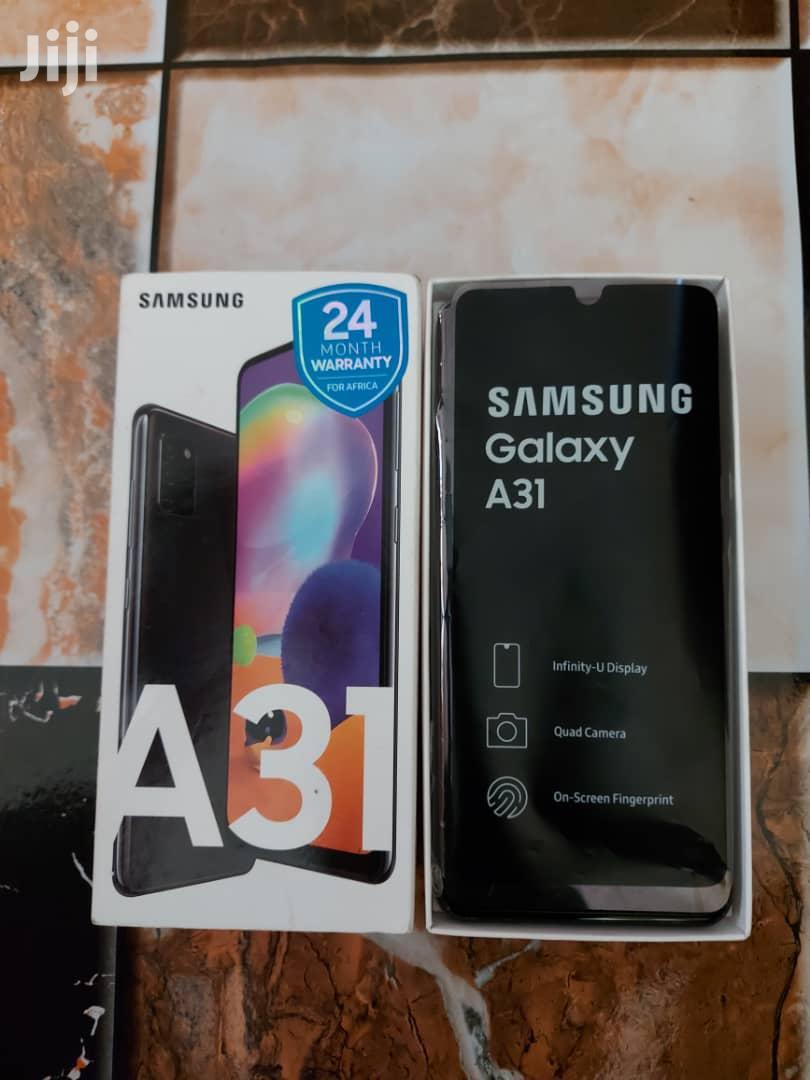 Archive: New Samsung Galaxy A31 128 GB Black