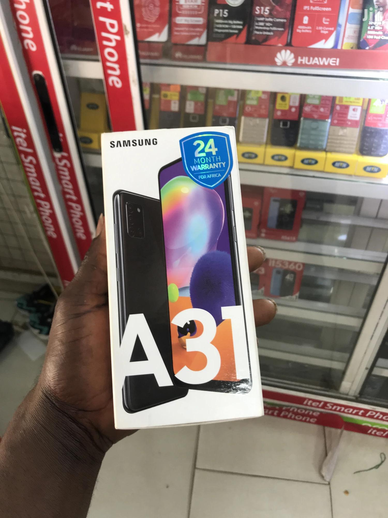 New Samsung Galaxy A31 128 GB Black | Mobile Phones for sale in Kumasi Metropolitan, Ashanti, Ghana