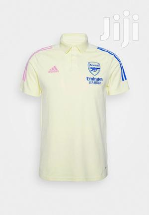 Arsenal Lemon Green Polo | Clothing for sale in Greater Accra, Adenta