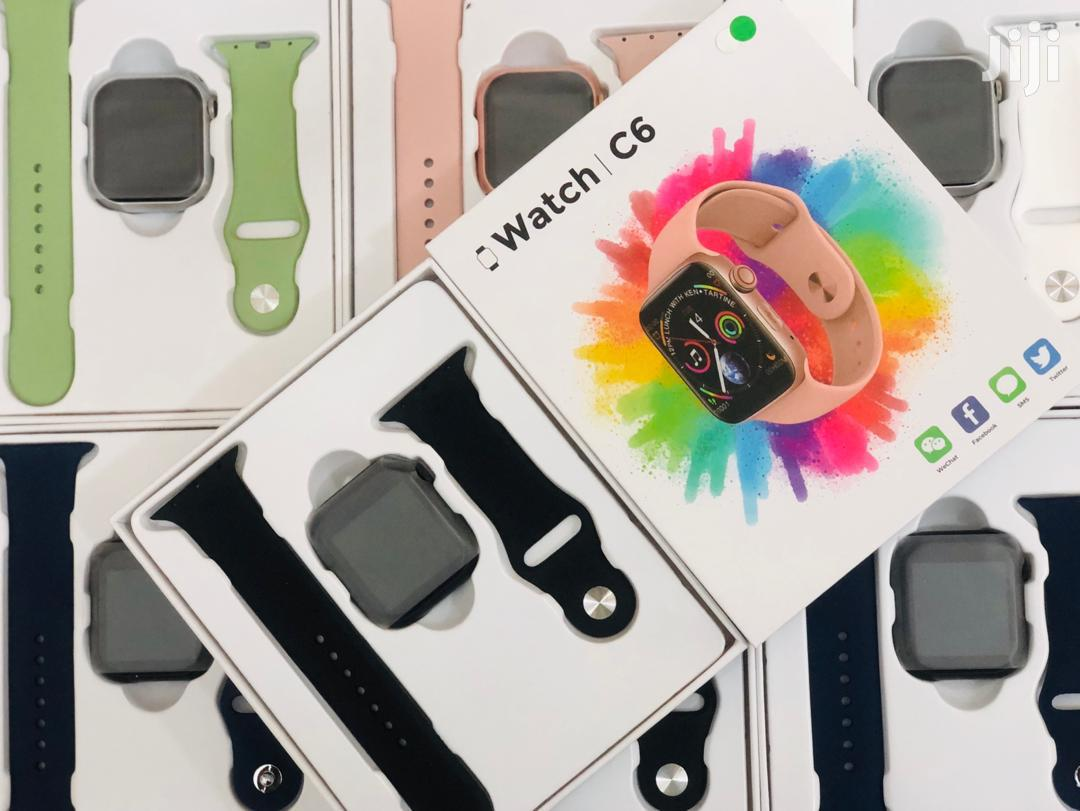 C6 Android IOS Bluetooth Smart Watch Sim Supported