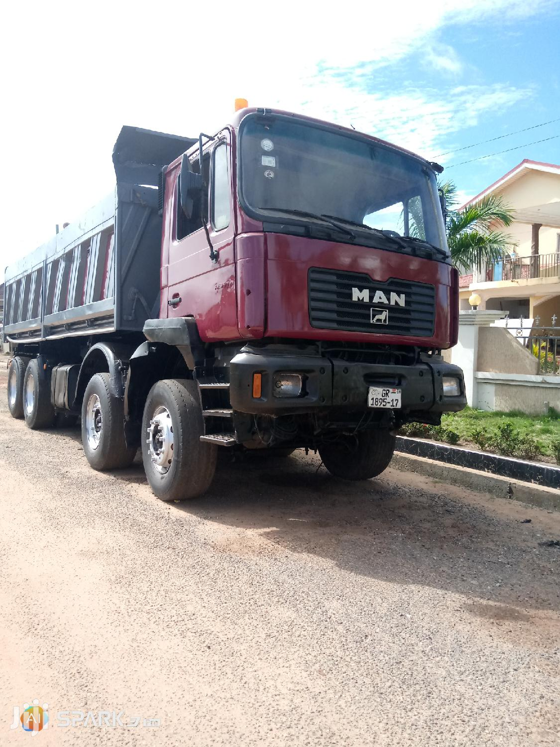 Tiper Truck With a Good Engine for Sale. 160,000   Trucks & Trailers for sale in East Legon, Greater Accra, Ghana