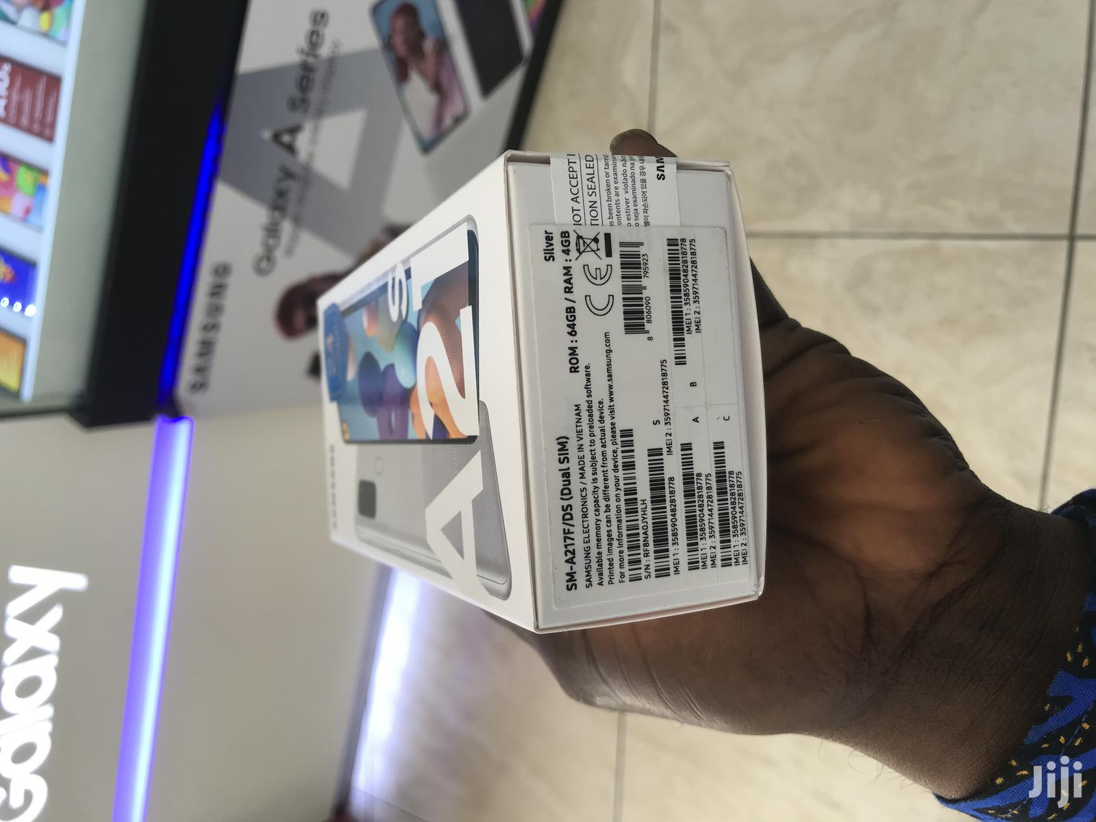 New Samsung Galaxy A21s 64 GB Black | Mobile Phones for sale in Kumasi Metropolitan, Ashanti, Ghana