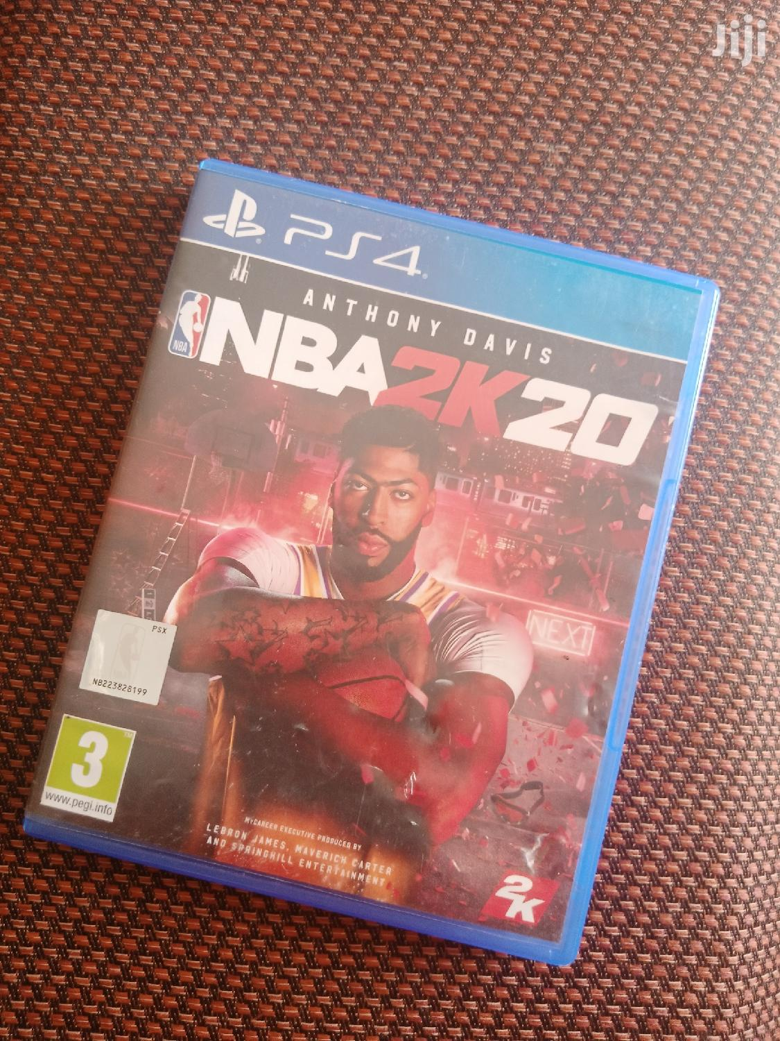 Archive: NBA 2k20 for Ps4